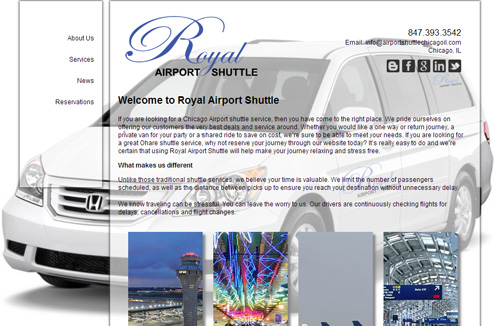 royal airport shuttle